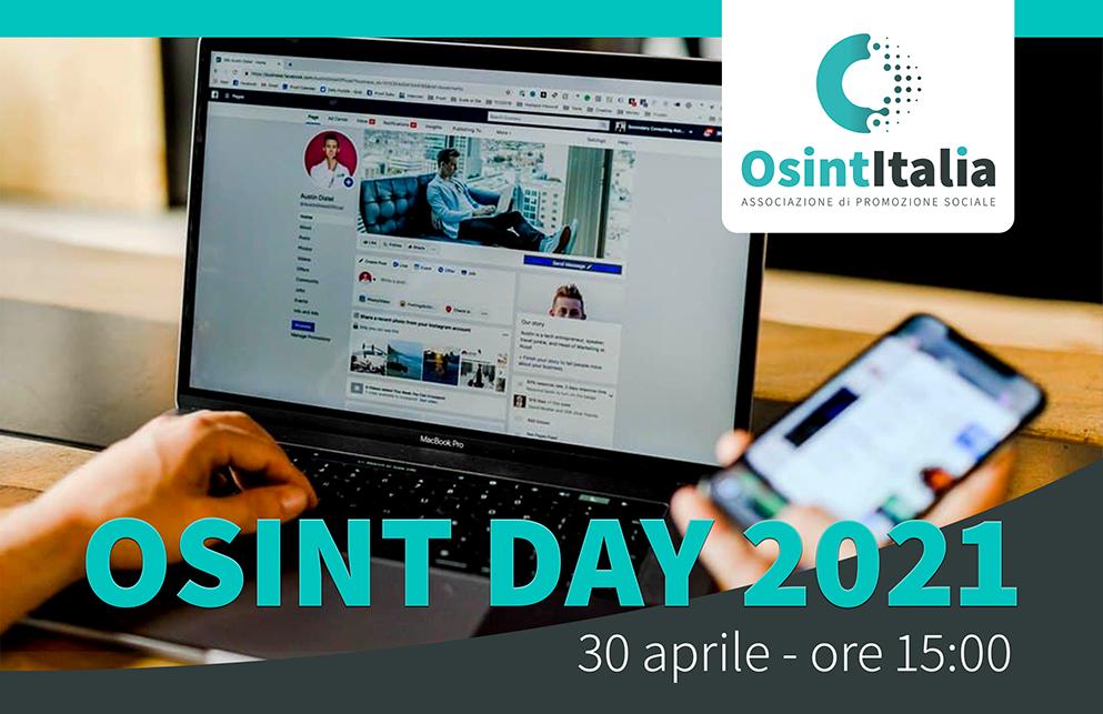 1° OSINT DAY – 30 aprile 2021